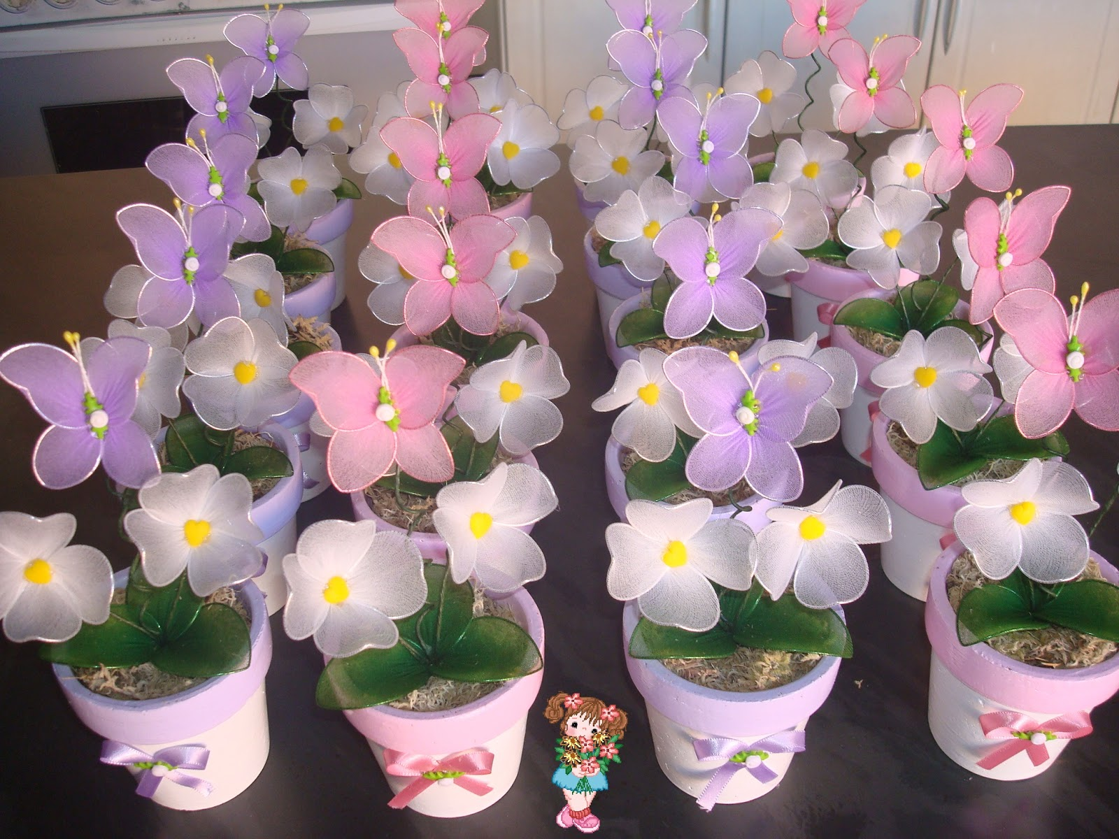 "mesa infantil jardim:Cris ""Flores & Lembrancinhas"""