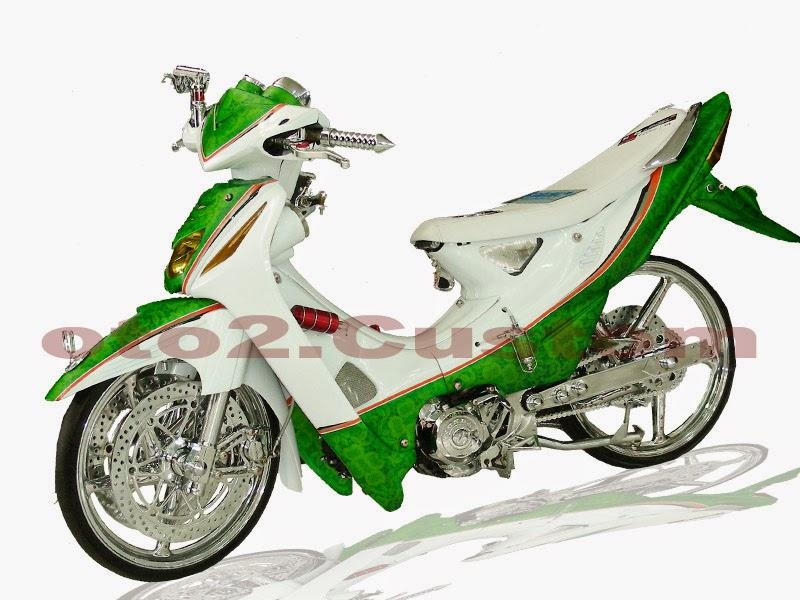 Gambar Modifikasi Honda Absolute Revo Terbaru