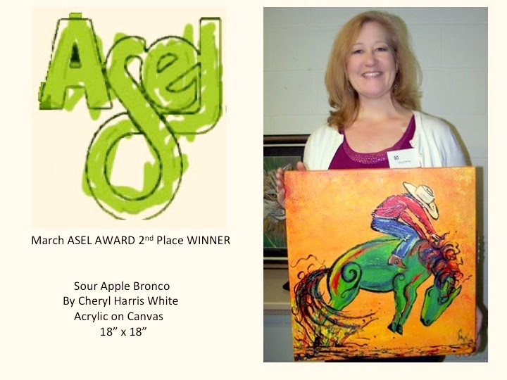 2nd Place Asel Art Award Winner