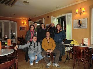 De izq. a dcha. y de arriba a abajo: Maranta, Pablo, Laura, Marcos, Inma; Nacho y Taber.