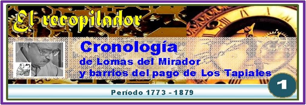 CRONOLOGIA de L. del Mirador -Pagina 1