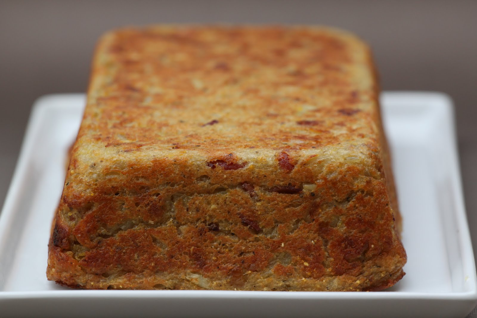 Pots and Frills: Spicy Potato Cake--From Poland