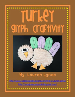 http://www.teacherspayteachers.com/Product/Turkey-Glyph-Craftivity-785165