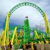 Turbulence Coaster é concluída no Adventureland