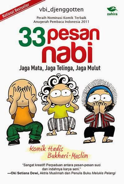 komik 33 pesan nabi karangan vbi djenggoten komik islam terbaik