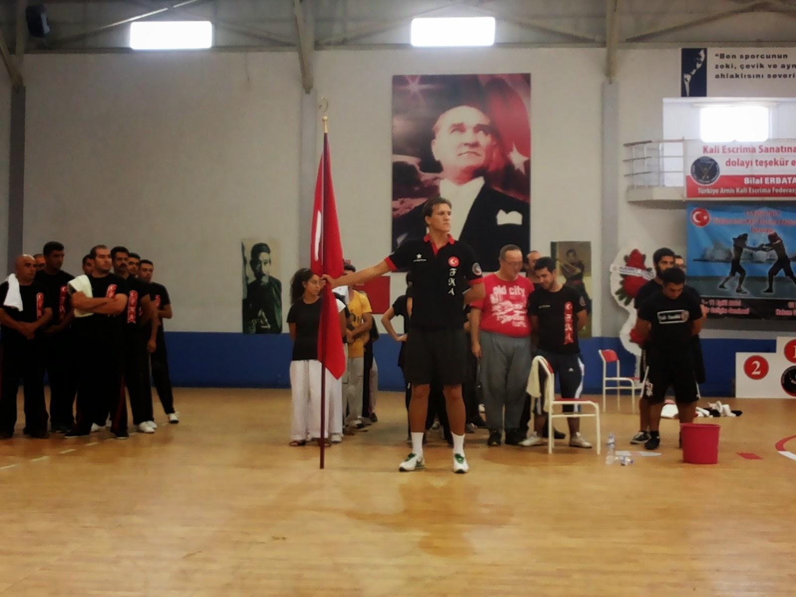 WSEF International Represents in Turkey with Master Guro Bilal Erbatan and Team