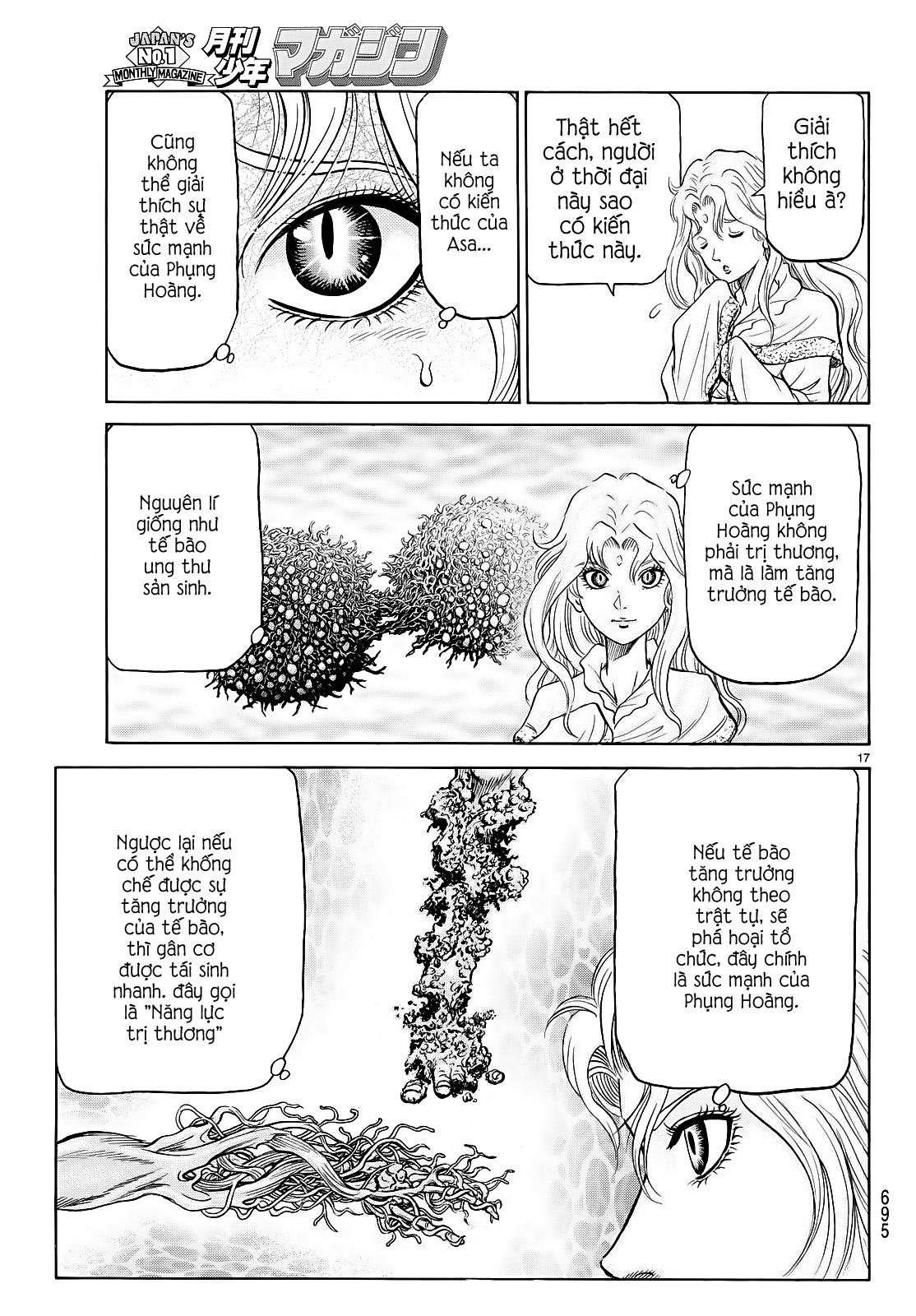 Chú bé rồng-Ryuuroden chap 260 Trang 16 - Mangak.info