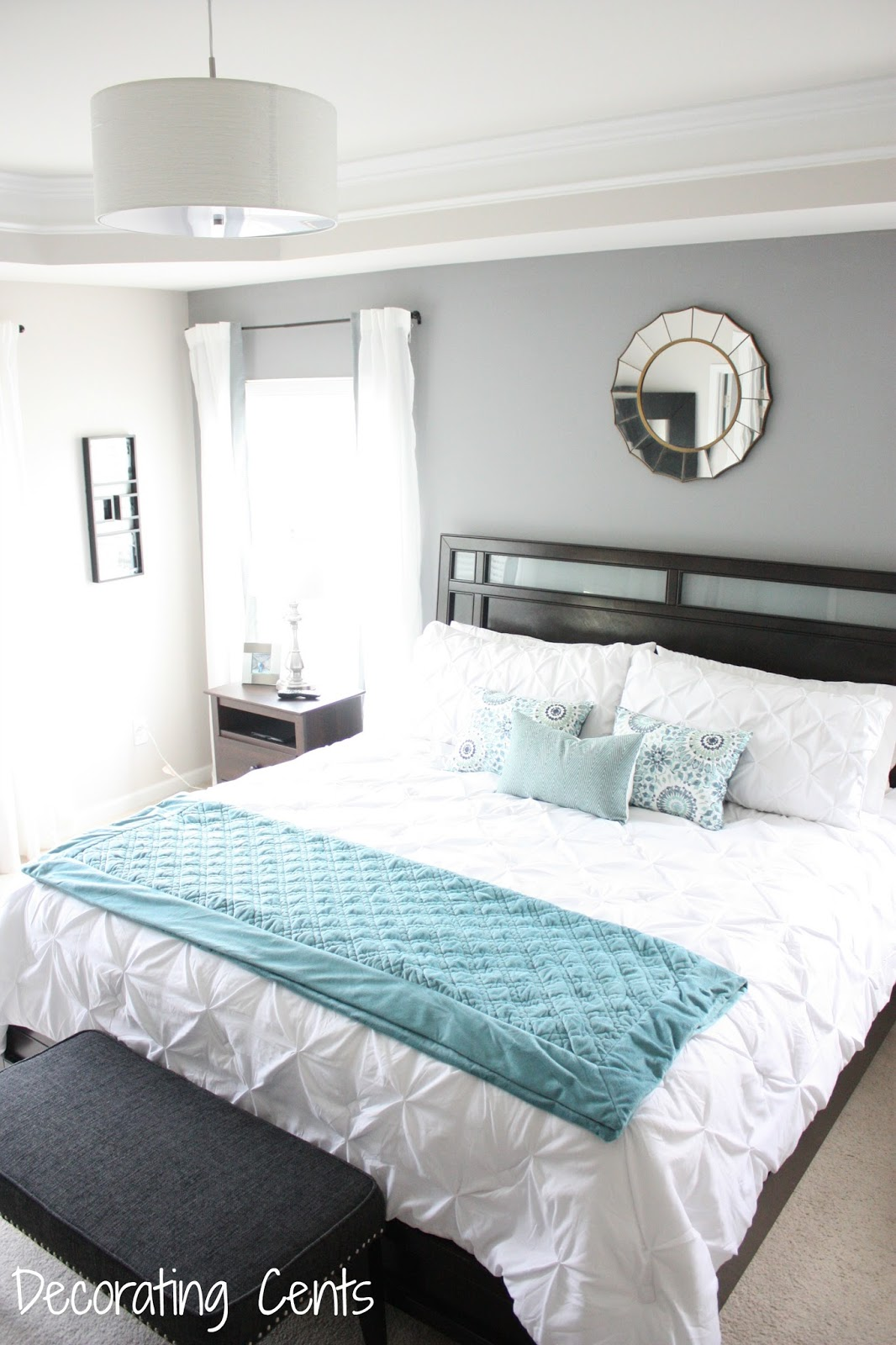 Master Bedroom Reveal Decorating Cents Master Bedroom