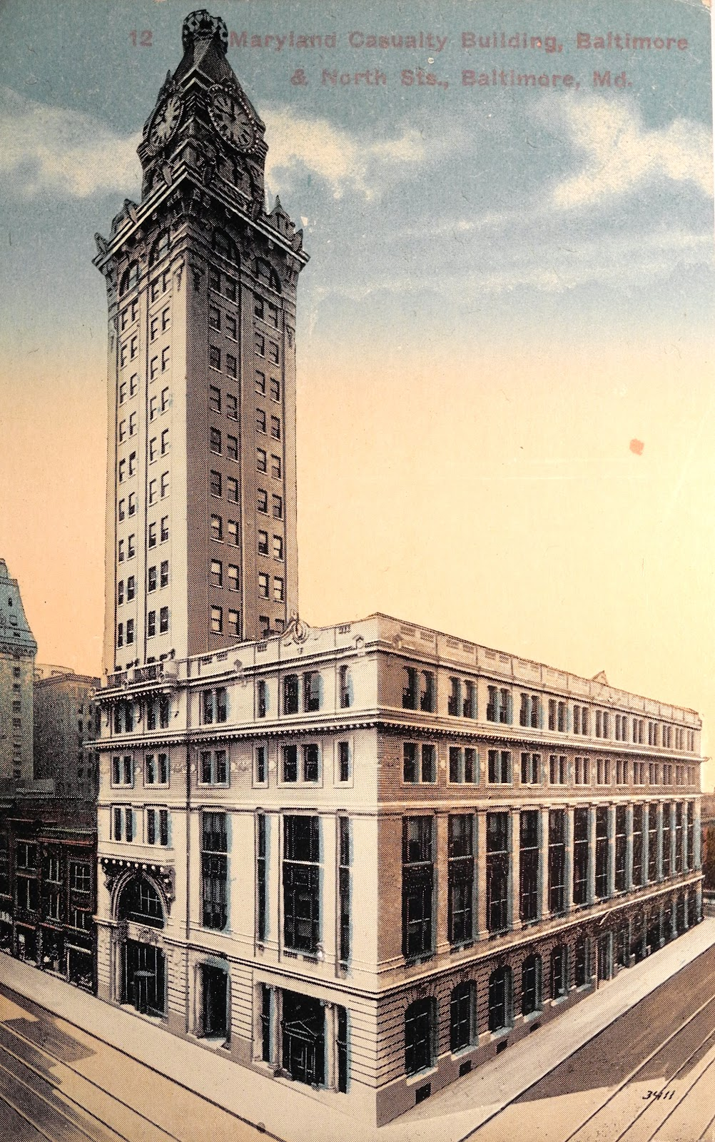 Tower building or maryland casualty building baltimore for Builders in md