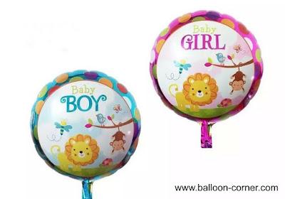 Balon Foil Baby Boy & Baby Girl