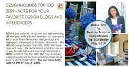 2019 Nest by Tamara Named Top 100 Design Influencer by Designhounds