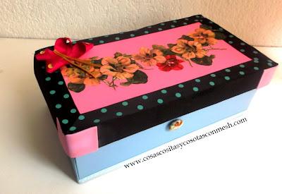 como decorar una caja de zapato ManualidadesPauVilaED