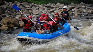 Rafting Sungai Serayu - international white water rafting