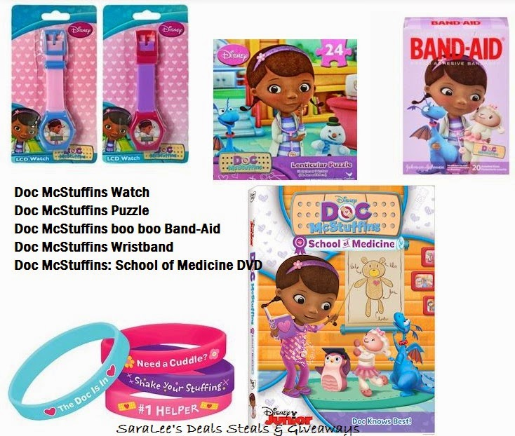 Enter the Doc McStuffins: School of Medicine Prize Pack Giveaway. Ends 9/20.