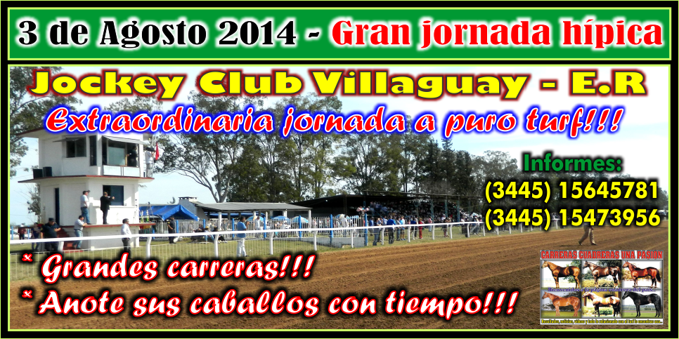 VILLAGUAY - REUNION 03.08.2014