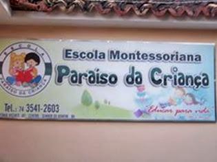 Escola Montessoriana Paraíso da Criança