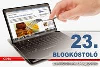 Blogkóstoló 23.fordulója!