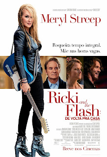 Dica de filme - Ricki and the Flash: De volta para casa