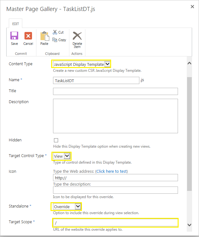 sharepoint 2013 how to use jslink