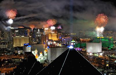 Perayaan Tahun Baru 2012 di Amerika Serikat