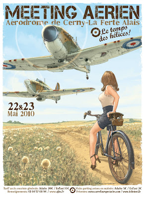 aircraft pin up