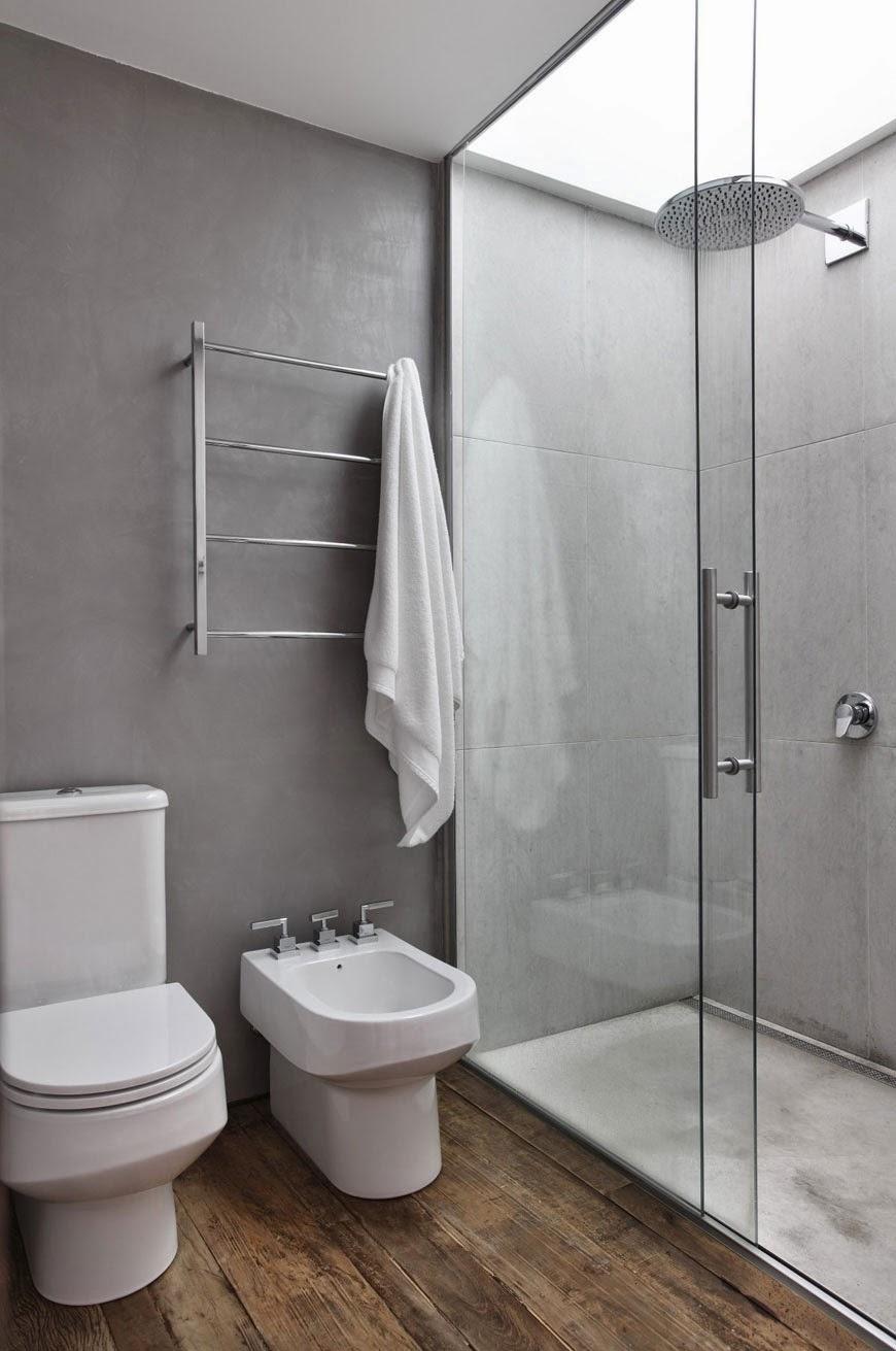 Banheiros modernos  19 modelos Confira!  Decor Alternativa -> Banheiros Modernos Atuais