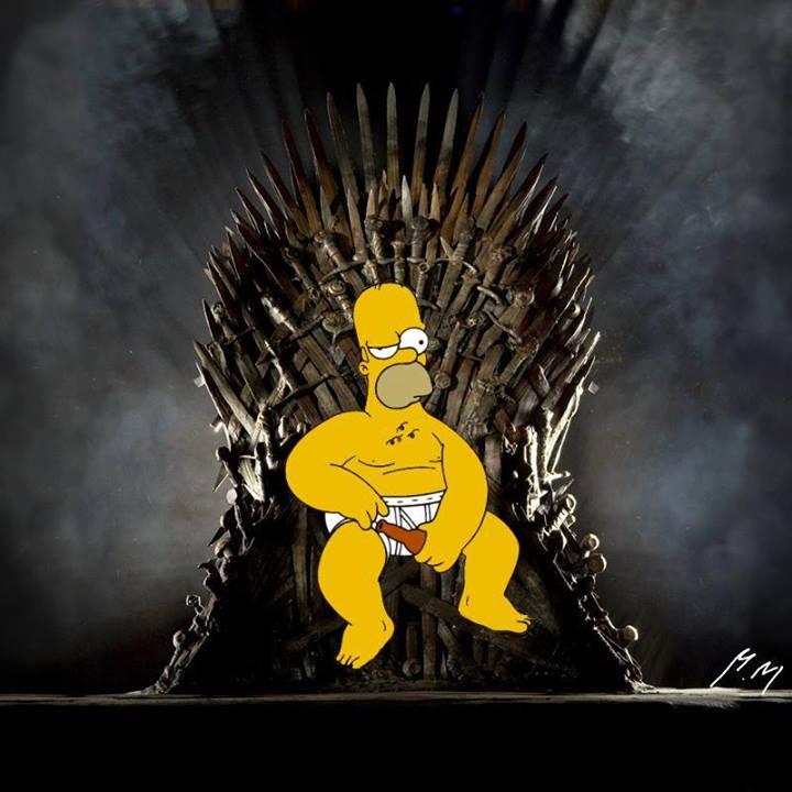 Humor im genes sobre juego de tronos xxiv juego de - Trono de hierro ...