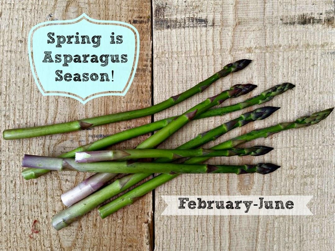 Asparagus season - cream of asparagus soup
