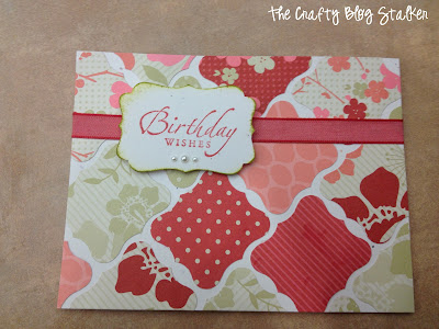 Birthday Wishes Card Front