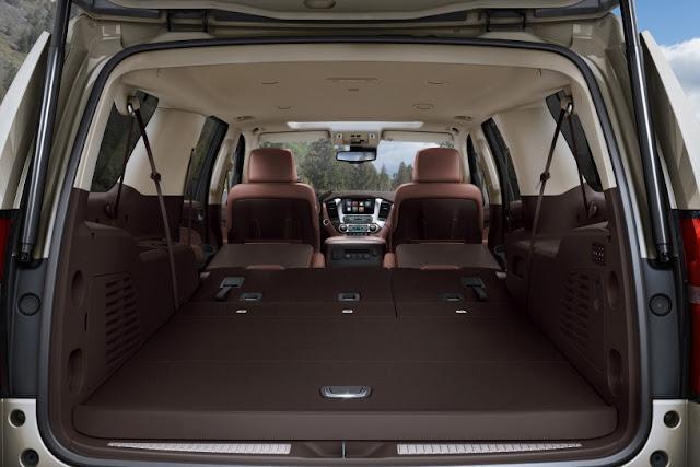 All New Chevrolet Suburban 2015 back interior