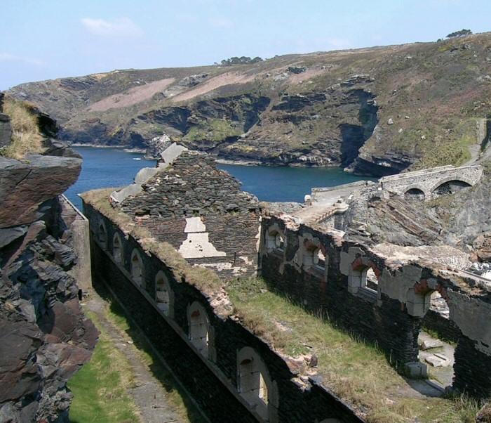 Visite du fort des Capucins