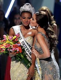 Pemenang Miss Universe 2011 Leila Lopes