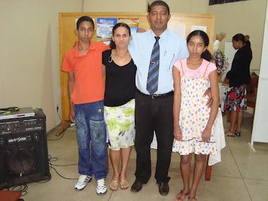 Pres. Florico José e família.