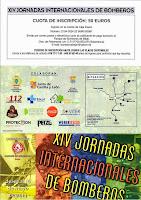 13/mayo. XIV Jornadas Internacionales de Bomberos. Béjar
