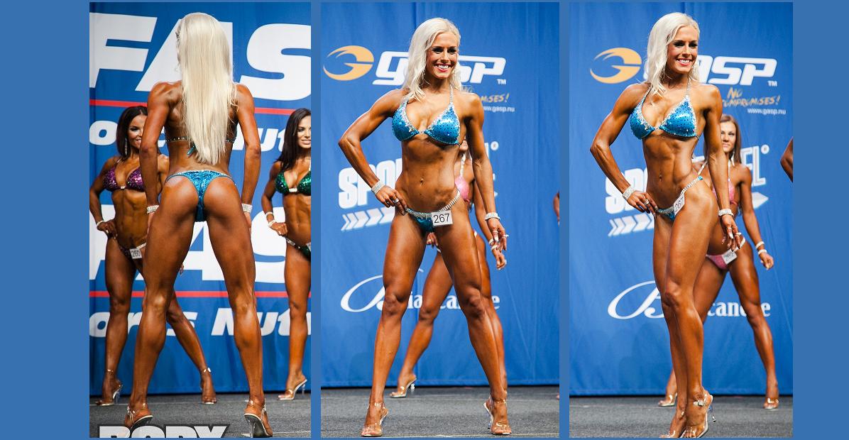 Sabina - IFBB bikini fitness atlete. Kost & Träning