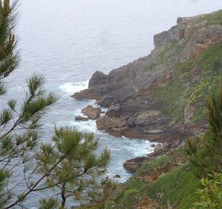 mer cantabrique entre Pasaia et St Sébastien (Donostia)