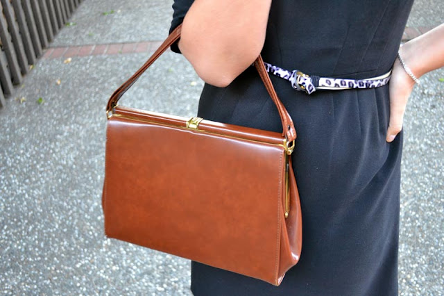 vintage frame bag