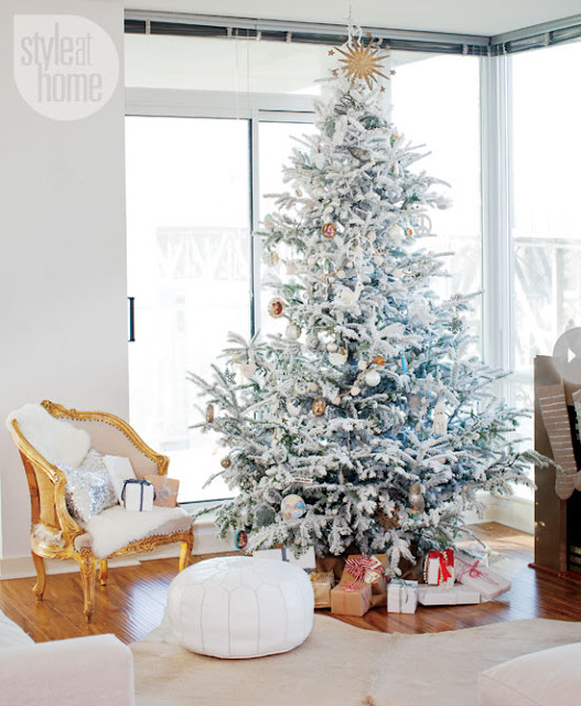 Decorating With Black White: AZUL & BLUE: Navidad Para Decorar