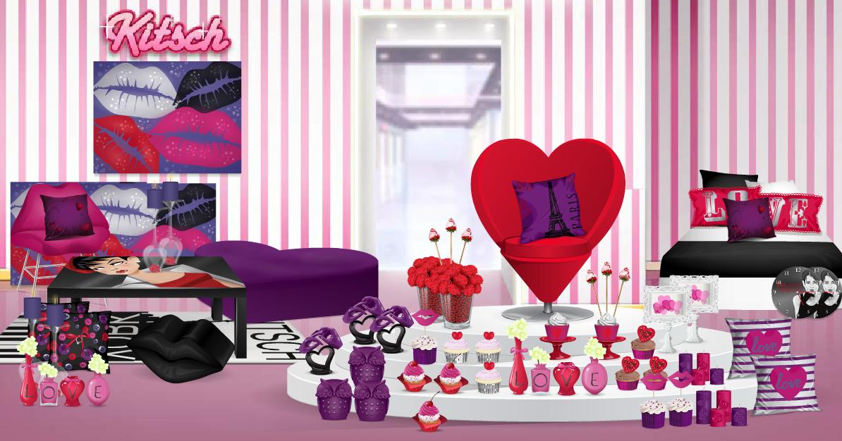Stardoll with love trucchi cheat gratis other kitsch for Arredamento kitsch