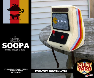 ESC Toy New York Comic-Con 2011 Exclusive I Think You're Soopa! Plush Figure by Steff Bomb