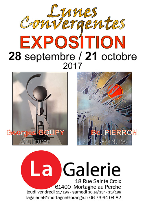 Exposition GOUPY / PIERRON