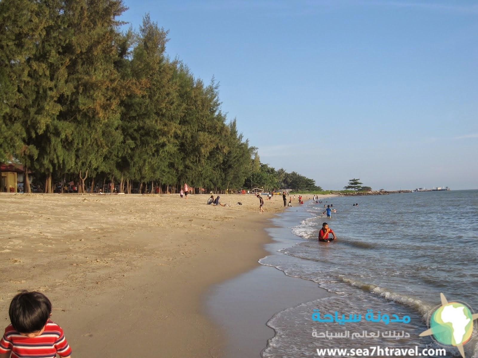 كليبانج ملاكا شواطئ السحر