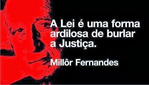Imprescindível diferença entre Lei e Justiça.