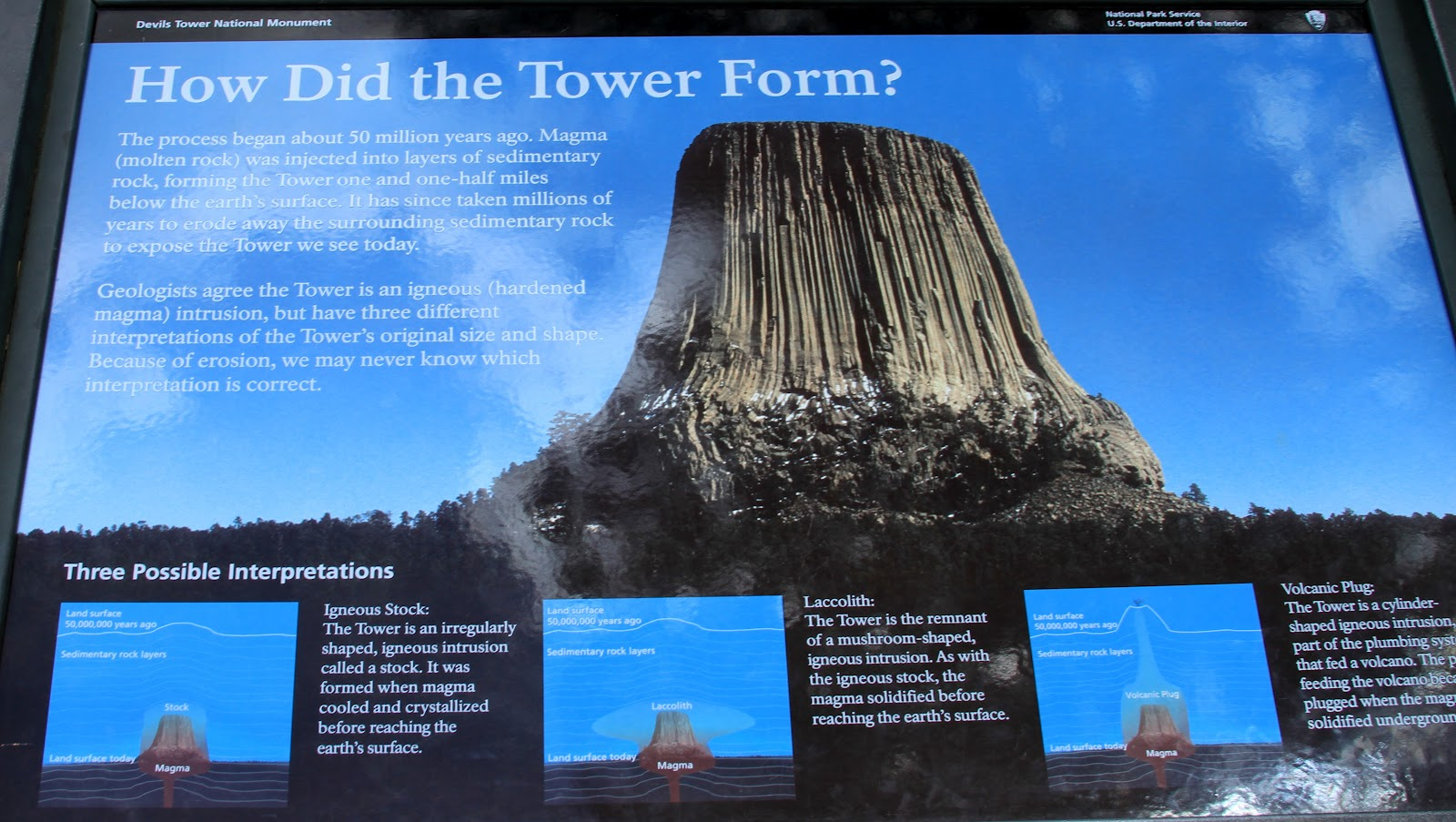 A Traveling Fish: Devils Tower, Wyoming