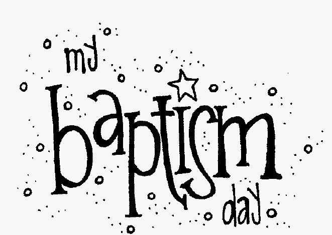 baptism shell coloring pages - photo#34