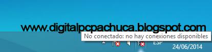 no conectado: no hay conexiones disposnibles wifi