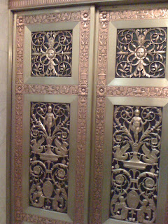 Daniel Chester French elevator doors at RISD