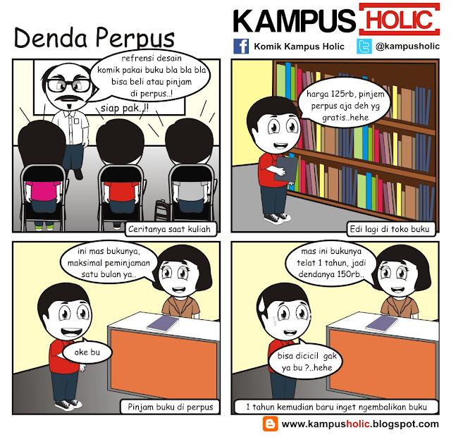 #093 Denda Perpus mahsiswa kampus holic