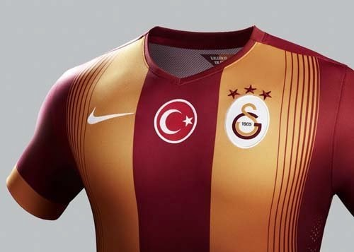 Galatasaray released home and away kit for 2014-15 seasons