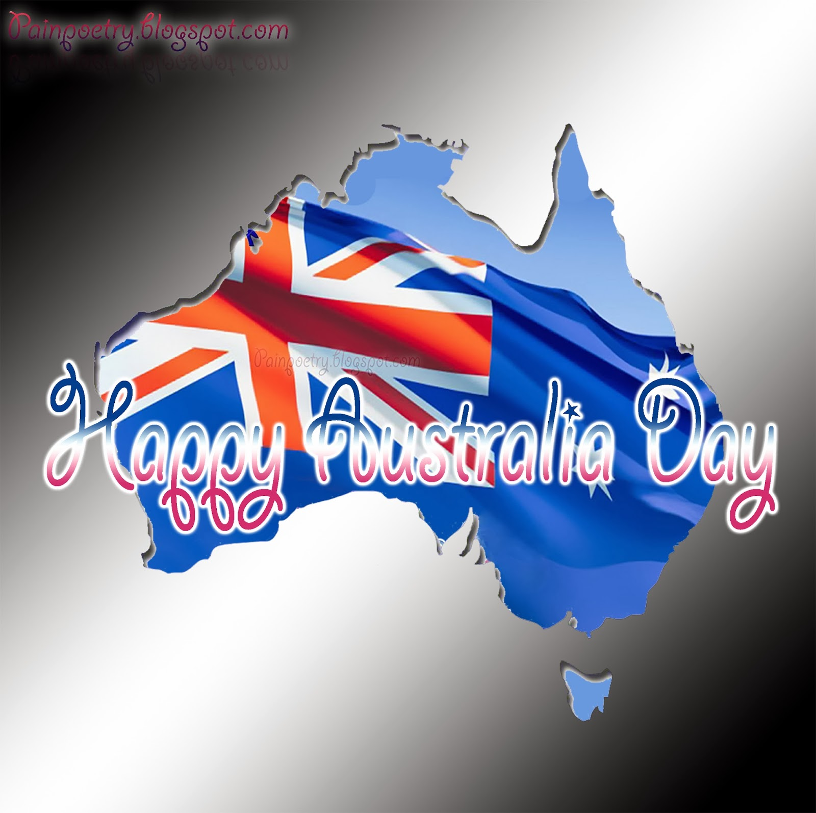 Happy-Australia-Day-Walpaper-Flag-Of-Australia-In-Map-Image-HD-Wide